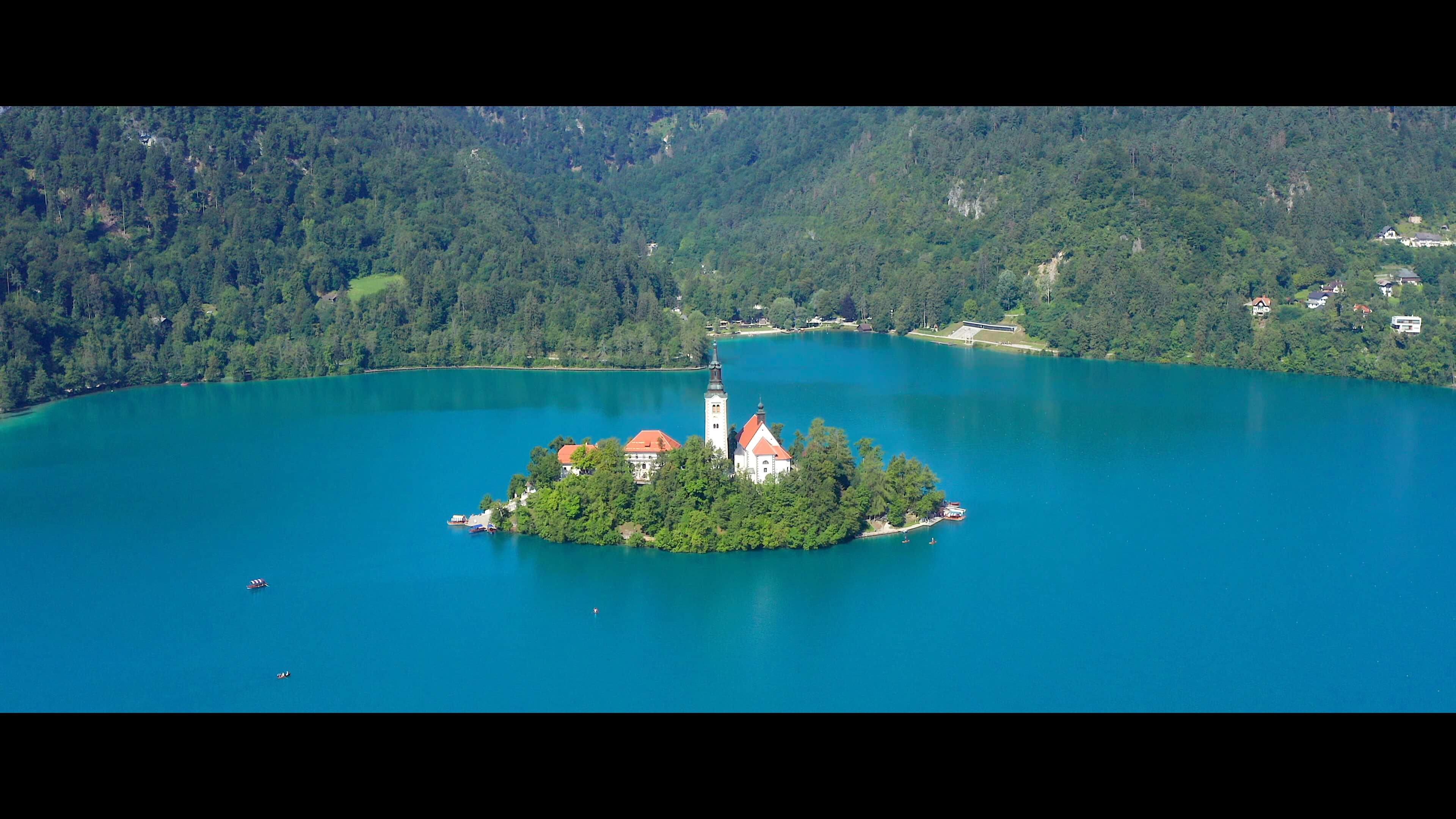 Bled Aerial Drone IJsseldrone