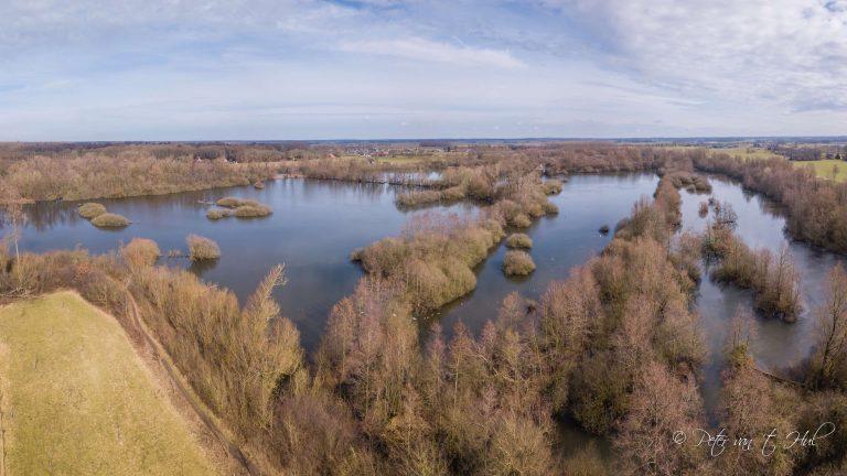 Tichelgaten Windesheim luchtfoto drone panorama