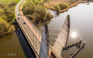 Mastenbroekerbrug Pyloon Luchtfoto 3