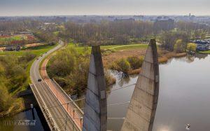 Mastenbroekerbrug Pyloon Luchtfoto 2