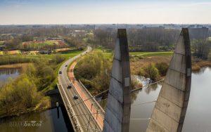 Mastenbroekerbrug Pyloon Luchtfoto 1
