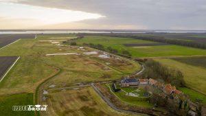 Schokland Luchtfoto Drone