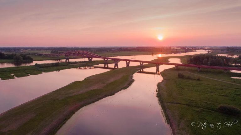 Hanzeboog Zwolle luchtfoto drone