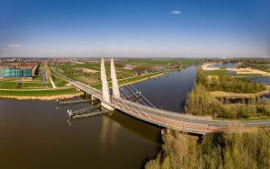 Mastenbroekerbrug panorama luchtfoto