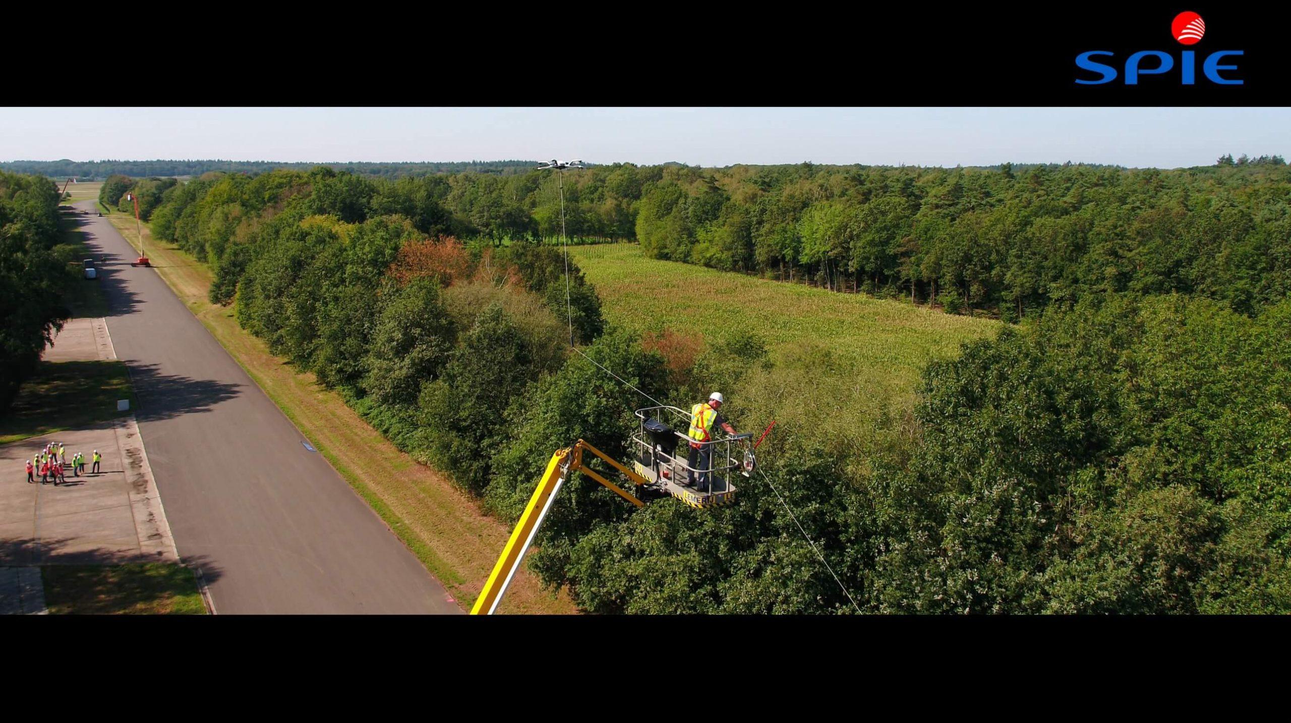 Spie Drone Luchtvideo IJsseldrone