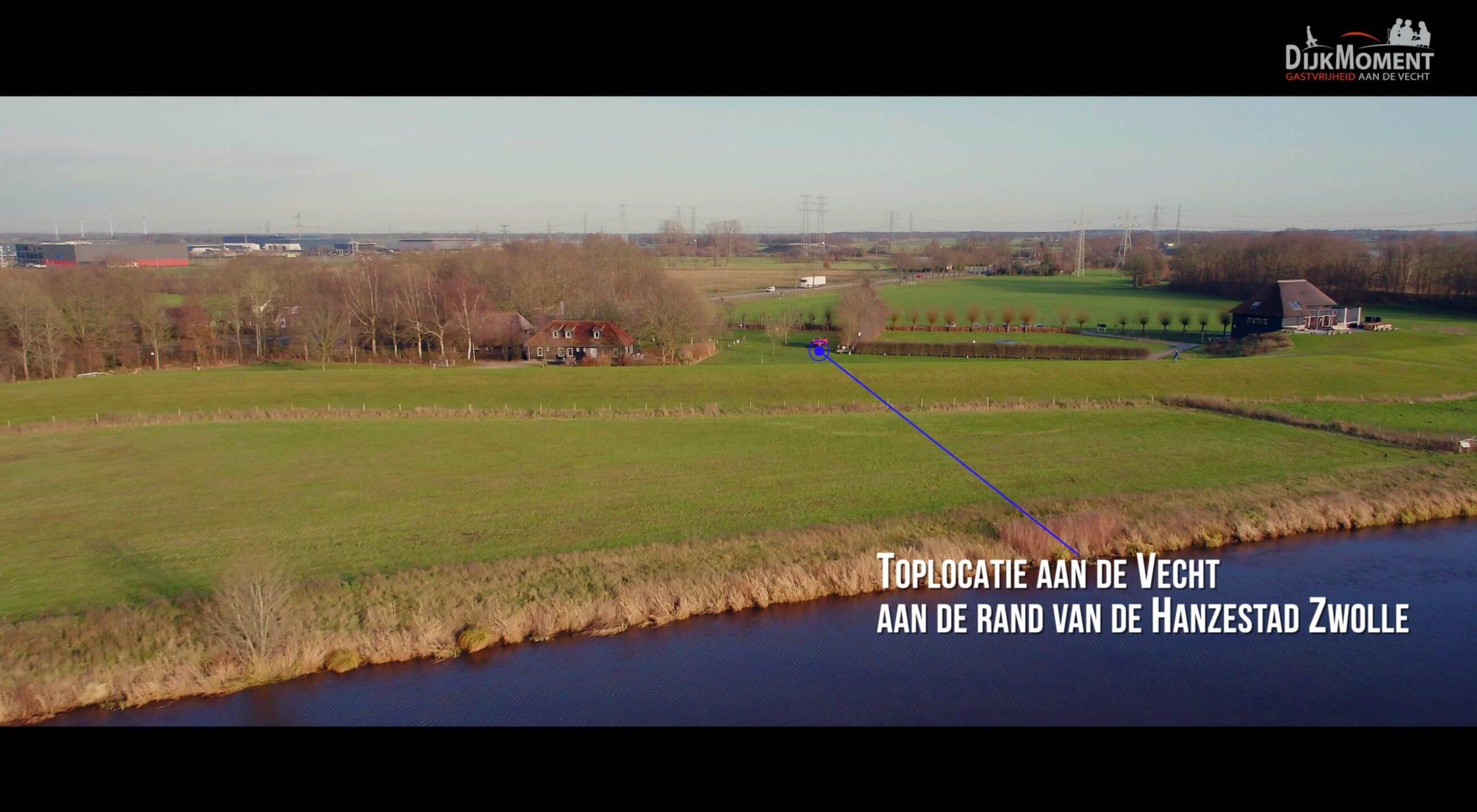 Dijkmoment Vecht & Zo Drone IJsseldrone