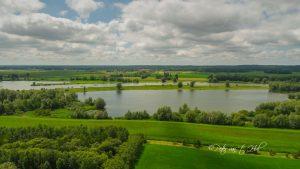 Windesheim IJssel Fabrieksweg luchtfoto drone